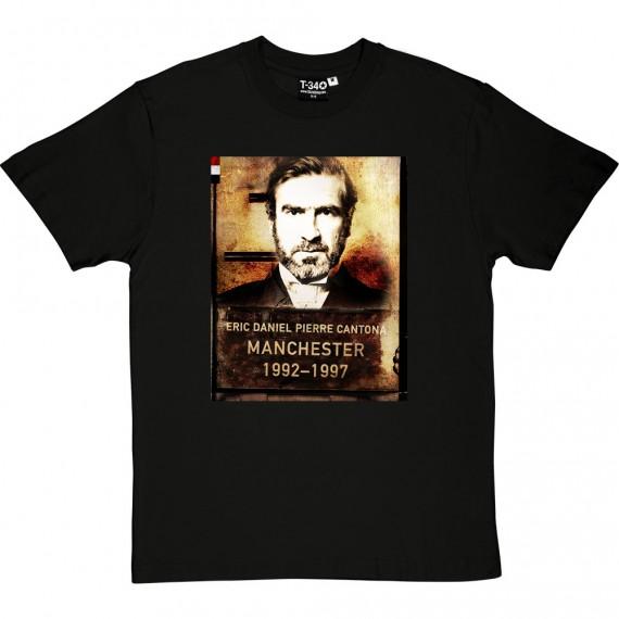 Eric Cantona Mugshot T-Shirt