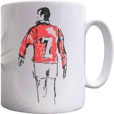 Eric Cantona Sketch Ceramic Mug
