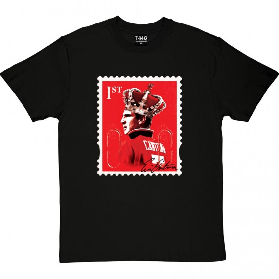 Eric Cantona Stamp T-Shirt