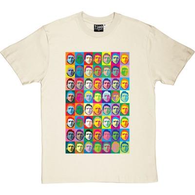"Eric Cantona ""Andy Warhol"" (Large Print)"