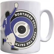 "George Best ""Northern Soul"" (1968) Ceramic Mug"