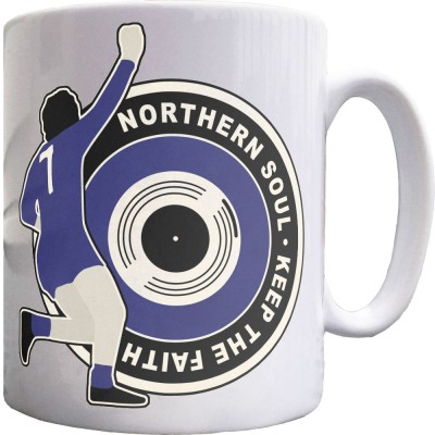 "George Best ""Northern Soul"" (1968) Ceramic Mug"
