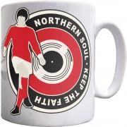 "George Best ""Northern Soul"" (Classic) Ceramic Mug"