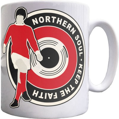 "George Best ""Northern Soul"" (Classic) Ceramic Mug"