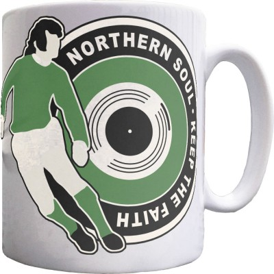 "George Best ""Northern Soul"" (Northern Ireland) Ceramic Mug"