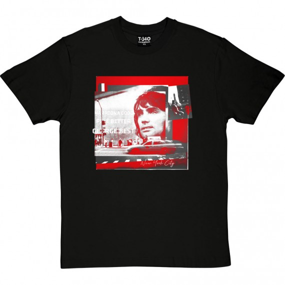 George Best NYC T-Shirt
