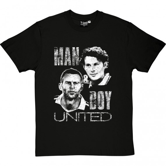 Ryan Giggs: Man And Boy T-Shirt
