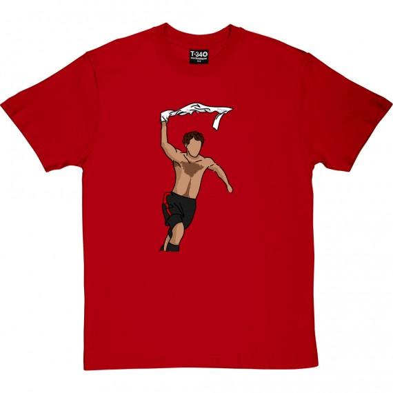 Giggs Celebration Sketch T-Shirt