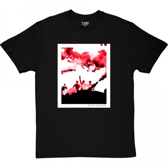 Glazers Out Flares (Red, White and Black) T-Shirt