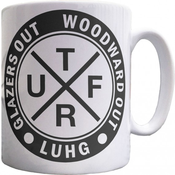 Glazers Out! Woodward Out! UTFR Ceramic Mug
