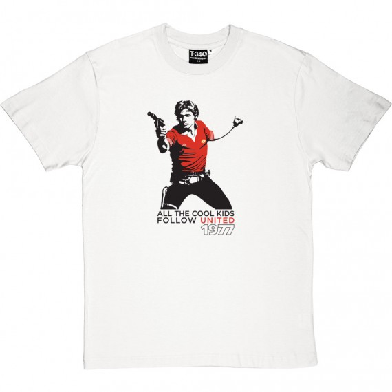 "Han Solo ""All The Cool Kids Follow United"" T-Shirt"