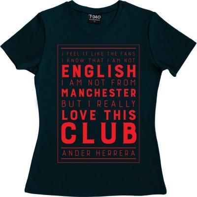 "Ander Herrera ""I Love This Club"" Quote"