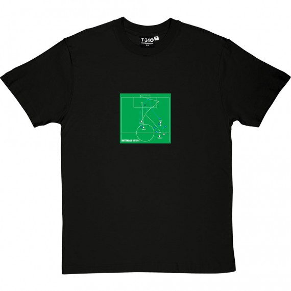 Mark Hughes Cup Winners Cup Final Goal T-Shirt