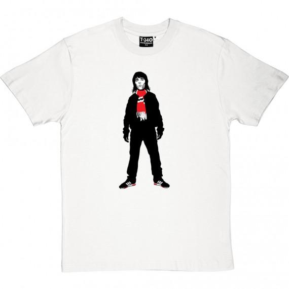 Ian Brown Bar Scarf T-Shirt