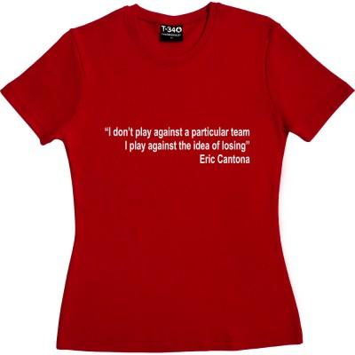 """Eric Cantona """"Idea of Losing"""" Quote"""