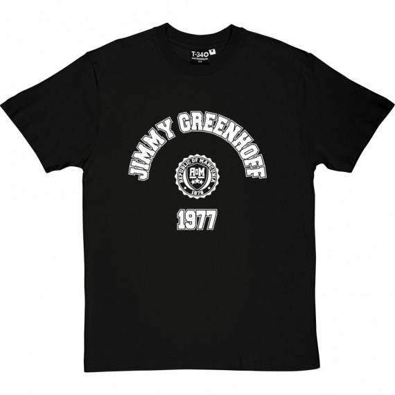 Jimmy Greenhoff 1977 T-Shirt