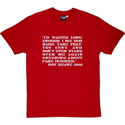 """Roy Keane """"Alfie Haaland"""" Quote"""