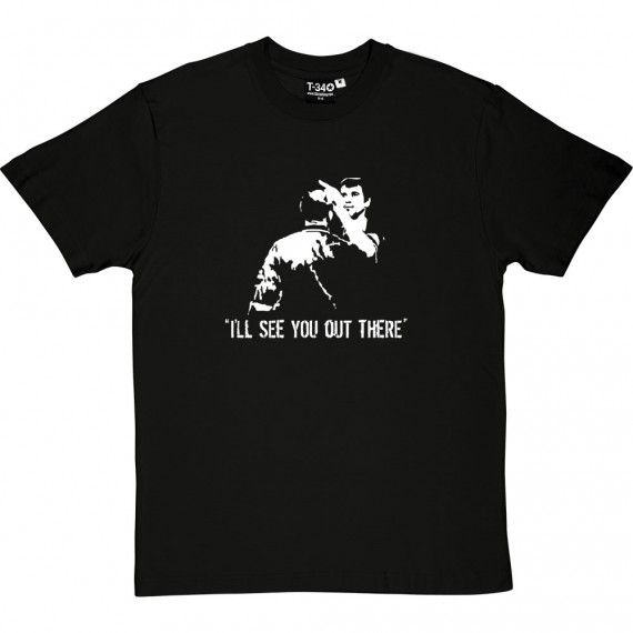 Roy Keane and Vieira: I'll See You Out There T-Shirt