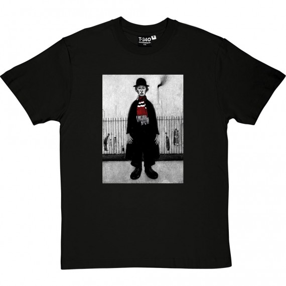 "LS Lowry ""A Lancashire Cotton Worker (With Bar Scarf)"" T-Shirt"