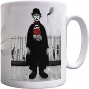 "LS Lowry ""A Lancashire Cotton Worker (With Bar Scarf)"" Ceramic Mug"