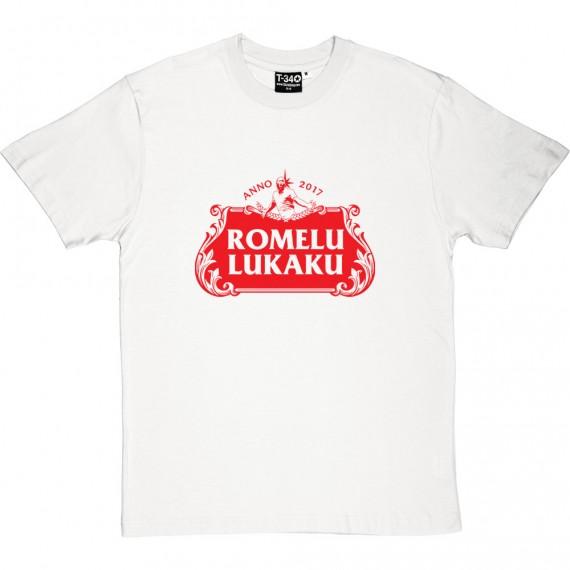 Romelu Lukaku Beer T-Shirt