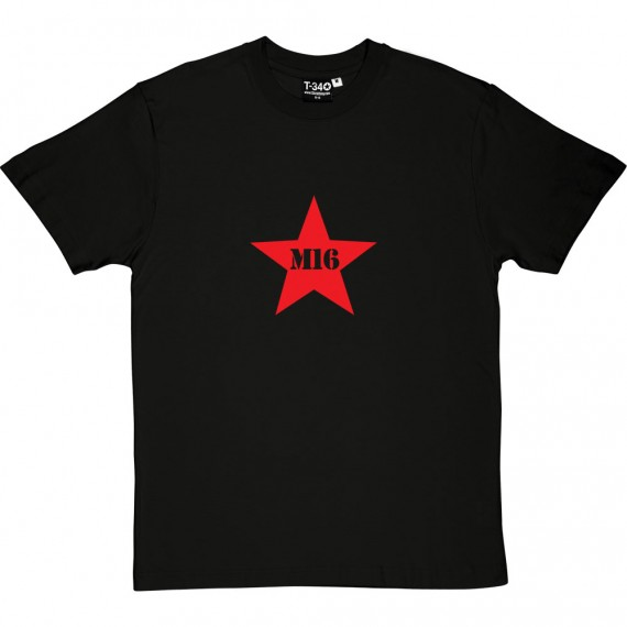 M16 Red Star T-Shirt