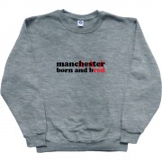 Manchester Born And Bred T-Shirt