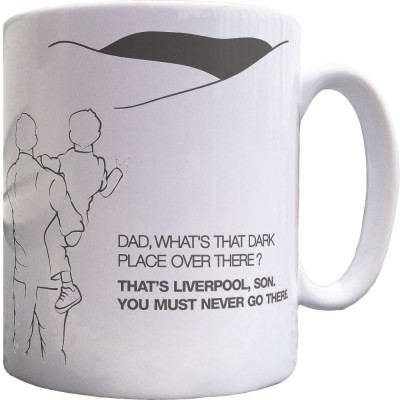 Manchester Dad and Lad Ceramic Mug