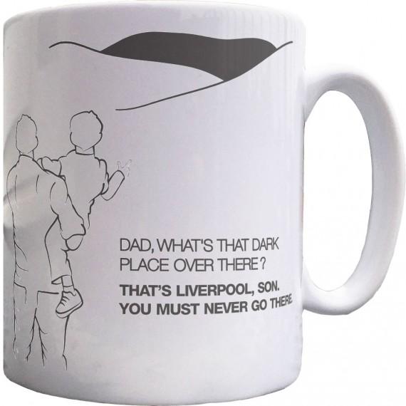 Manchester Dad and Lad Ceramic Mug