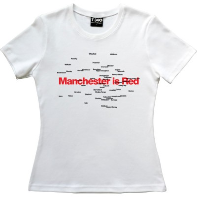 Manchester Is Red Districts