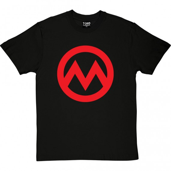 Manchester M (Large Print) T-Shirt