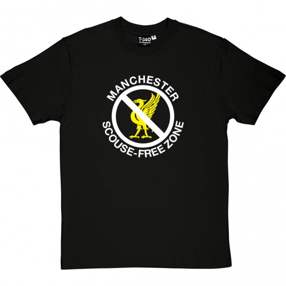 Manchester: Scouse-Free Zone T-Shirt