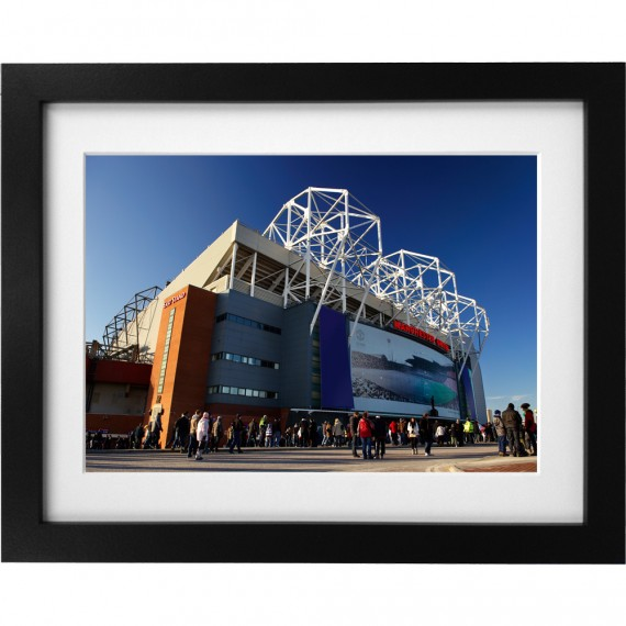 Old Trafford Match Day No1 Art Print