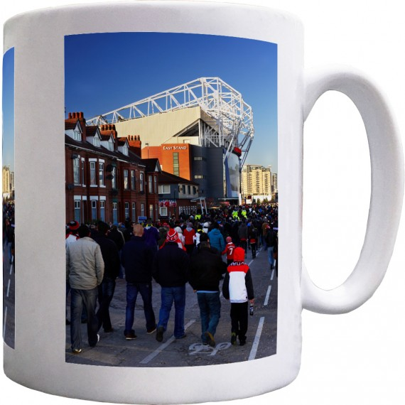 Old Trafford Match Day No2 Ceramic Mug