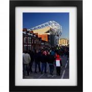 Old Trafford Match Day No2 Art Print