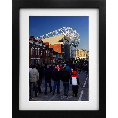 Old Trafford Match Day No2 Art Print