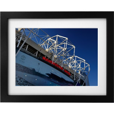 Old Trafford Match Day No3 Art Print