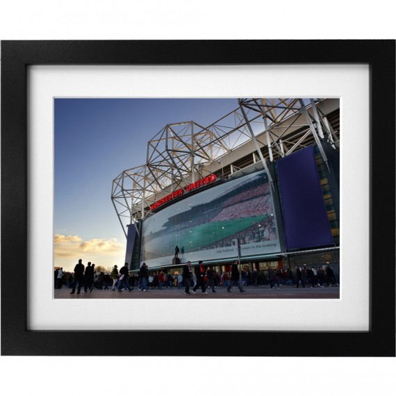Old Trafford Match Day No6 Art Print