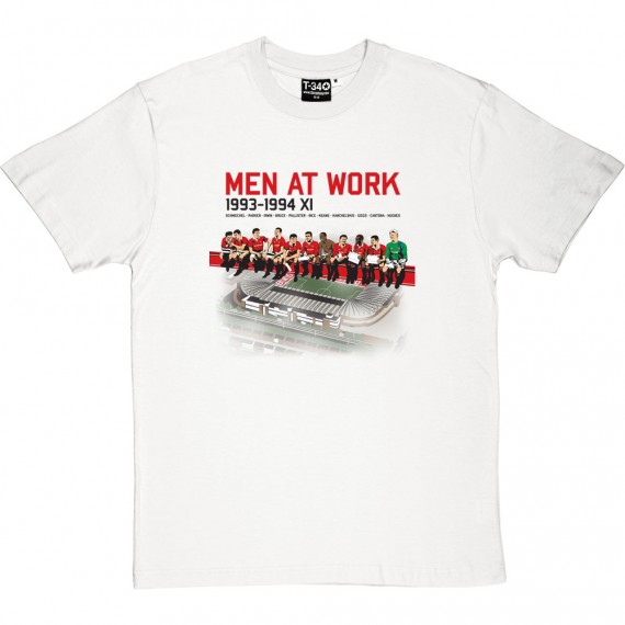 Men At Work: 1993-94 T-Shirt