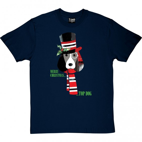 Merry Christmas Top Dog T-Shirt