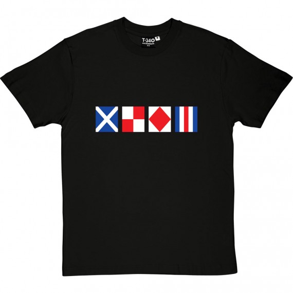 MUFC Nautical Signal Flags T-Shirt