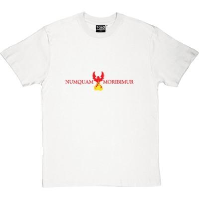 """Numquam Moribimur """"Never Die"""" Phoenix"""