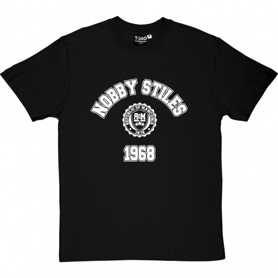Nobby Stiles 1968 T-Shirt