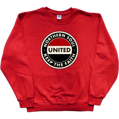 """Northern Soul """"Keep The Faith"""" (Red, White and Black)"""