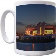 Old Trafford At Night Ceramic Mug