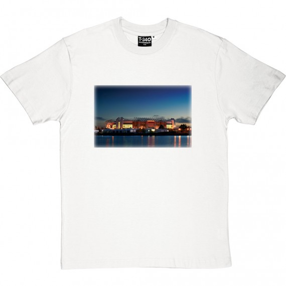 Old Trafford At Night Photograph T-Shirt