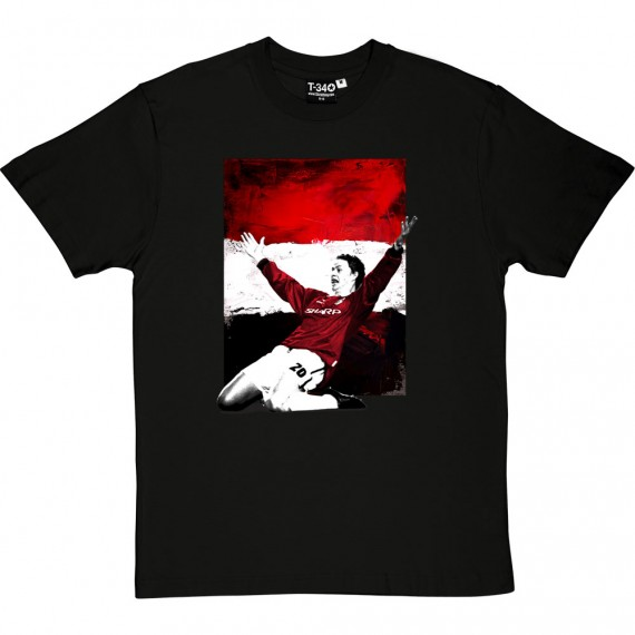 "Ole Gunnar Solskjaer ""Red, White & Black"" T-Shirt"