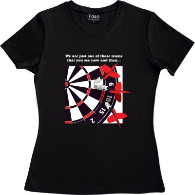 We Are Just One Of Those Teams (Dartboard)