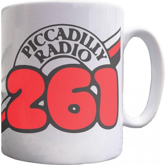 Piccadilly Radio 261 Ceramic Mug
