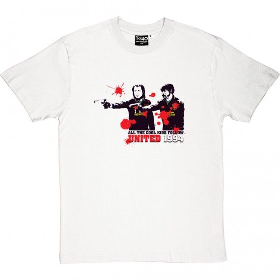 "Pulp Fiction ""All The Cool Kids Follow United"" T-Shirt"